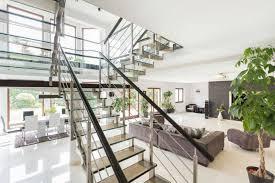 modern stairway rails