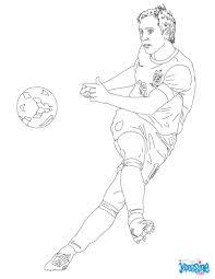 Coloriage Du Joueur De Foot Frank Lampard Imprimer Gratuitement
