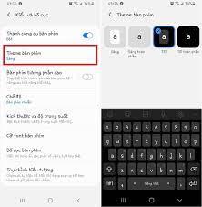 Cách đổi màu nền bàn phím trên điện thoại Samsung - Fptshop.com.vn
