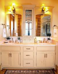 pictures gallery of creative of bathroom countertop cabinet counter linen cabinet with 3 side access