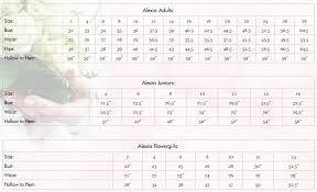 Alexia Designs Size Charts Bellamerabridal Com