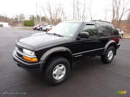 Onyx Black 1999 Chevrolet Blazer LS 4x4 Exterior Photo #46852776 ...