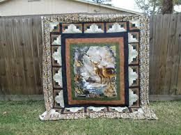 23 best Quilts ~ Panels images on Pinterest & Deer panel quilt More Adamdwight.com