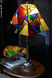 stained glass lamps stained glass projects a ter lamp shade stained glass light fixtures home depot