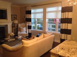 Striped Living Room Curtains Make Your Rooms Great With Horizontal Or Vertical Black And White