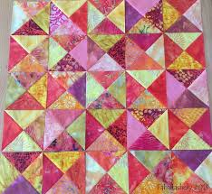 26 best BROKEN DISHES QUILT images on Pinterest   Projects ... & triangles Adamdwight.com