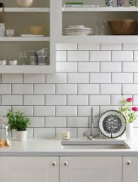 Image Sanded Grout Subway Tiles With Dark Grout For Definition This For My Kitchen with Open Cabinets Painted White For Sure Pinterest Subway Tiles With Dark Grout For Definition This For My Kitchen
