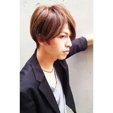 前髪長めメンズショート Renjishi Kichijojiレンジシのヘアスタイル