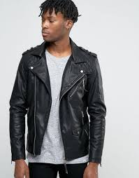 river island biker jacket in faux leather black men jackets river island t shirts shrink