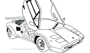 Sport Car Coloring Pages Sports Car Coloring Page Pages Books