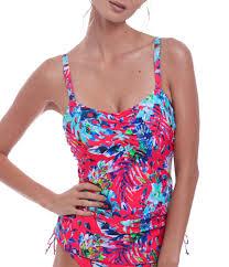Fantasie Fiji Underwire Bra Sized Tankini Swimsuit Top
