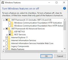 net framework unrecognized or not