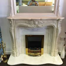 louis marble fireplace ex display select fireplaces