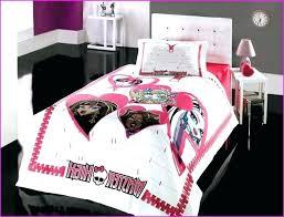 cozy monster high bedroom sets images innovation monster high bedroom sets monster high bedding set queen