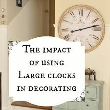 Small Picture Ergonomic Huge Wall Clock 47 Huge Wall Clocks For Sale