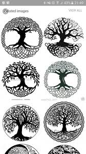 Harmony Triangle Norse Tattoo Yggdrasil Tattoo Celtic Tattoos