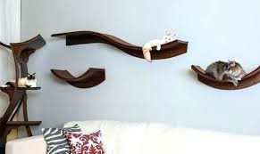 shelves for cats lotus cat mahogany floating building