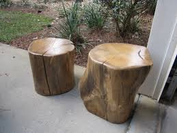 tree stump furniture. Natural Creations Reclaimed Tree Stump Table Design For Your Traditional Outdoor Patio Area Furniture A