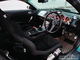 nissan 350z modified interior. modp 1210 02 2004 nissan 350z interior modified d