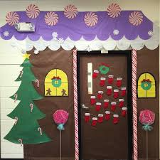 ginger bread house christmas door winter decorating ideas17 ideas