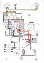 similiar 1958 vw bus wiring diagram keywords 1958 vw van wiring diagram 1958 circuit diagrams on 1958 vw bus