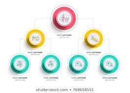 Chart Organization Design Organisational Layout Stock Vectors Images Vector Art