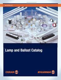Lamp And Ballast Catalog Osram Sylvania