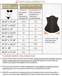 Women S Clothing Size Chart By Height And Weight Ursula Faja Exercise Waist Trainer For Women Weight Loss Girdle Xxs 4xl
