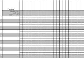 Teacher Grade Sheet Template Gradebook Sheet Barca Fontanacountryinn Com