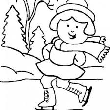 Small Picture Coloring Pages Winter Printable Outdoor Fun adult