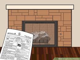image titled light a gas fireplace step 09