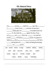 worksheet describing a haunted house english worksheet describing a haunted house