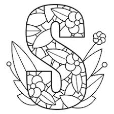Letter S Coloring Pages Spectacular Letter S Coloring Pages
