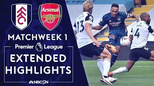 Fulham v. Arsenal | HIGHLIGHTS OF THE PREMIER LEAGUE | 12/9/2020 | NBC  Sports