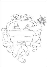Small Picture Wedding Coloring Pages For Kids Free Mickey And Minnie In Their