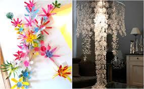 chandelier from plastic bottles