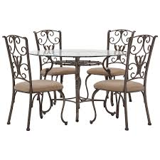 sofa nice glass table with 4 chairs 5 lincoln black dining set lpd round glass table