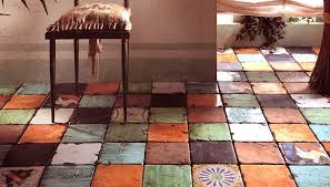 View in gallery floor-tile-rustic-aged-look-eco-ceramica-1.