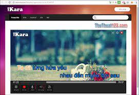 Trang web hát karaoke online