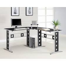 l shaped computer desk for two
