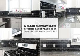 kitchen backsplash subway tile. BLACK SLATE BACKSPLASH TILE NEW CALEDONIA Kitchen Backsplash Subway Tile L
