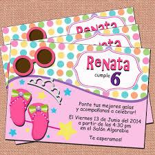 Invitaciones Fiesta Invitaciones Princesas Fiesta Princesas Invitaciones Niña