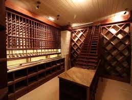 wine room ideas. The Location Of A Basement Wine Cellar Also Makes It An Ideal Spot For Large Collections And Heavy Shelves Since You Do Not Have To Worry About Room Ideas
