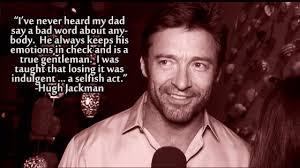 """X-Men - Wolverine/Logan {Hugh Jackman}#2: """"Hugh is a ridiculously ... via Relatably.com"""