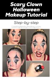 scary clown makeup tutorial lipsense distributor chicago lasting lips by lindsay