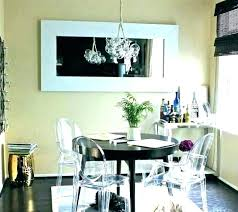 dining table chandelier height above room chandeliers medium kitchen set alum