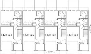 main floor plan 2 for d 441 multifamily house plans reverse living house plans