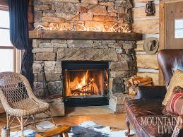 fireplace, stone fireplaces, mantels, wood beams, fieldstone ...