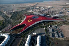 The building itself will house dark rides, cinemas and rides. Transpress Nz Ferrari World Building In Abu Dhabi