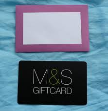 m s marks and spencer gift card voucher coupon of value 125